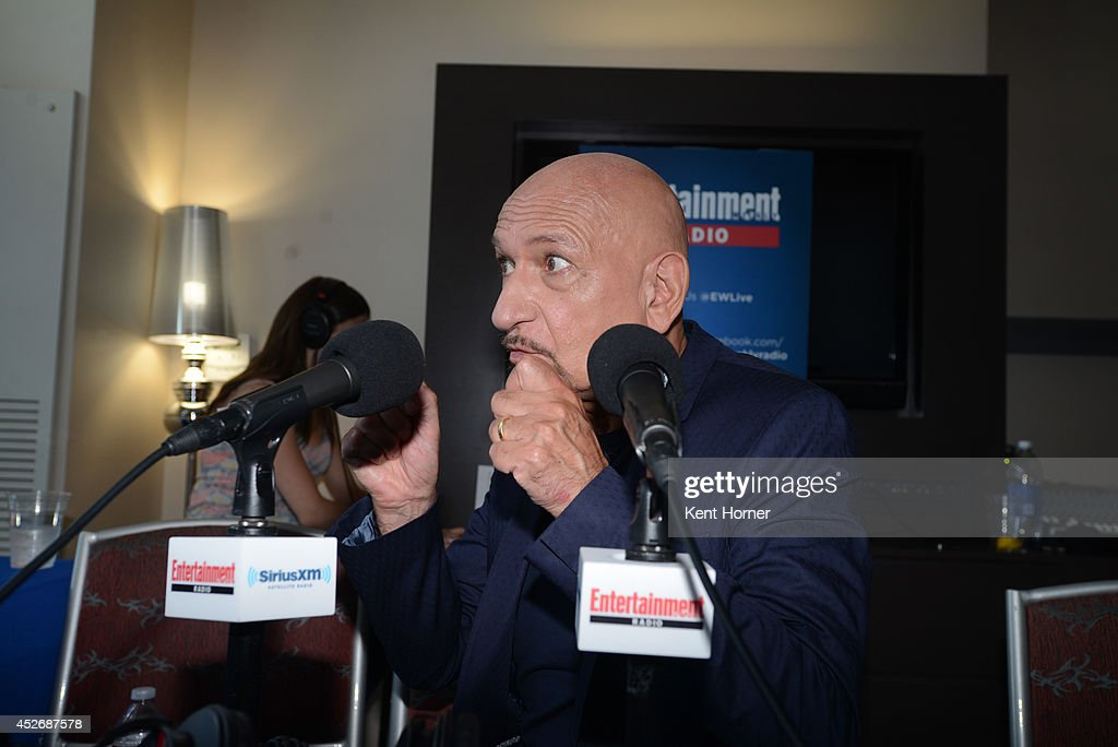 Ben Kingsley is interviewed on SiriusXM's Entertainment Weekly Radio channel from Comic-Con 2014 at The Hard Rock Hotel on July 25, 2014 in San Diego, California.
