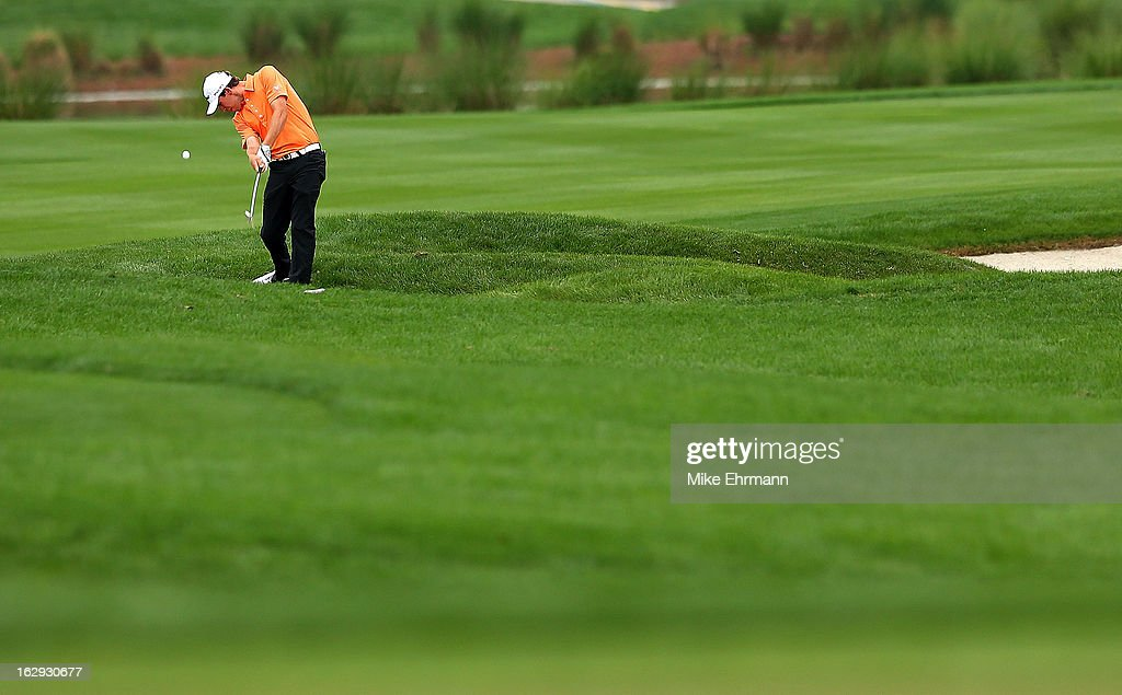 Ben Kohles hits his approach shot on the 13th hole during the second round of the Honda Classic at PGA National Resort and Spa on March 1, 2013 in Palm Beach Gardens, Florida.