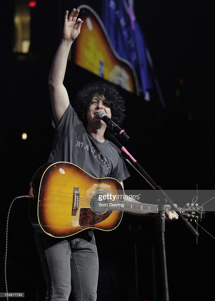 <a gi-track='captionPersonalityLinkClicked' href=/galleries/search?phrase=Ben+Kweller&family=editorial&specificpeople=220316 ng-click='$event.stopPropagation()'>Ben Kweller</a> performs during the Rock for Oklahoma Benefit at the Chesapeake Energy Arena on July 23, 2013 in Oklahoma City, Oklahoma.