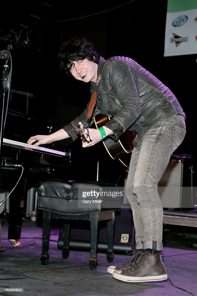 <a gi-track='captionPersonalityLinkClicked' href=/galleries/search?phrase=Ben+Kweller&family=editorial&specificpeople=220316 ng-click='$event.stopPropagation()'>Ben Kweller</a> performs in concert for the Austin Music Awards at the Austin Music Hall during the South By Southwest Music Festival on March 13, 2013 in Austin, Texas.