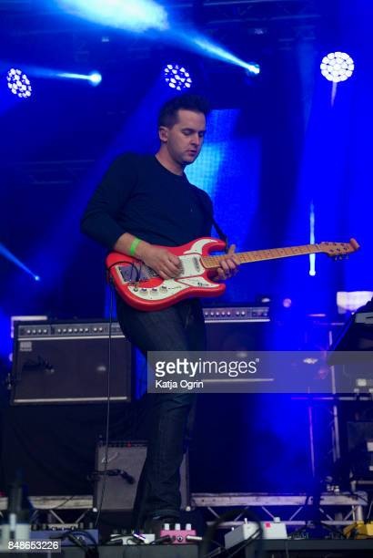 Ben Little of the Wild Beasts performing on stage at Beyond The Tracks Festival on September 17 2017 in Birmingham England