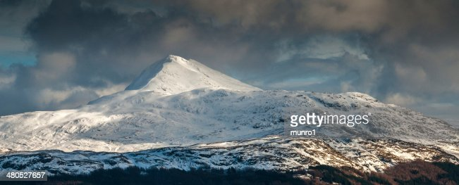 Ben Lomond in Winter : Stock Photo