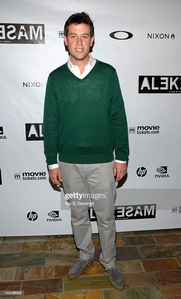 Ben Lyons attends the premiere of 'Alekesam' at Tribeca Grand Hotel on April 20, 2012 in New York City.