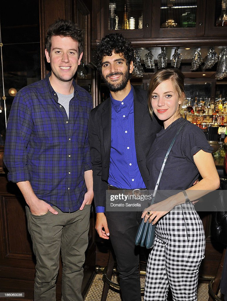Ben Lyons Josh Sussman and Sophie Buhai attend the 2013 CFDA Vogue Fashion Fund Finalists and Friends Bowling Cocktails and Lite Bites hosted by...
