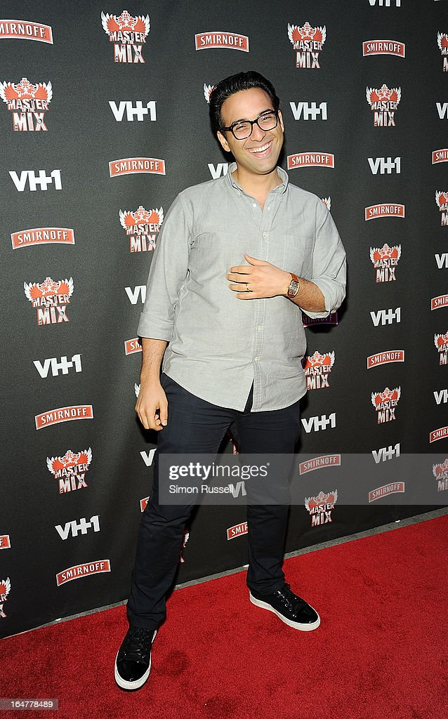 Ben Maddahi attends the 'Masters Of The Mix' Season 3 Premiere at Marquee on March 27, 2013 in New York City.
