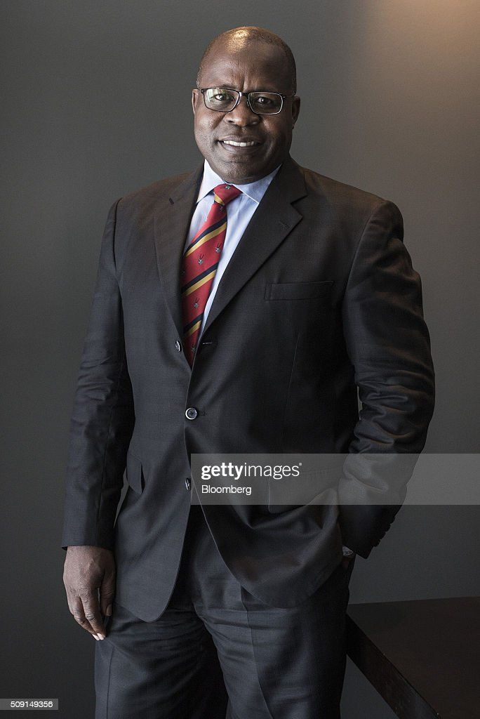 Ben Magara, chief executive officer of Lonmin Plc, poses for a photograph on the second day of the Investing in African Mining Indaba in Cape Town, South Africa, on Tuesday, Feb. 9, 2016. With many miners battling to stay afloat, fewer are willing to shell out 1,140 pounds ($1,641) for the Investing in African Mining Indaba conference in South Africa and business-class airfare. Photographer: Waldo Swiegers/Bloomberg via Getty Images