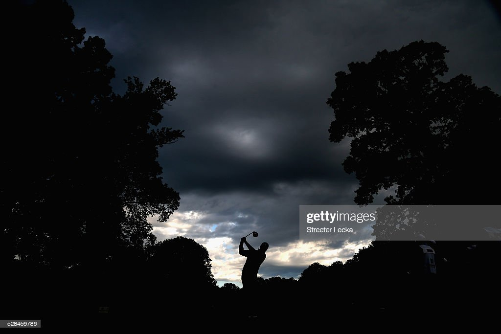 <a gi-track='captionPersonalityLinkClicked' href=/galleries/search?phrase=Ben+Martin+-+Golfer&family=editorial&specificpeople=12769070 ng-click='$event.stopPropagation()'>Ben Martin</a> hits a tee shot on the 11th hole during the first round of the 2016 Wells Fargo Championship at Quail Hollow Club on May 5, 2016 in Charlotte, North Carolina.