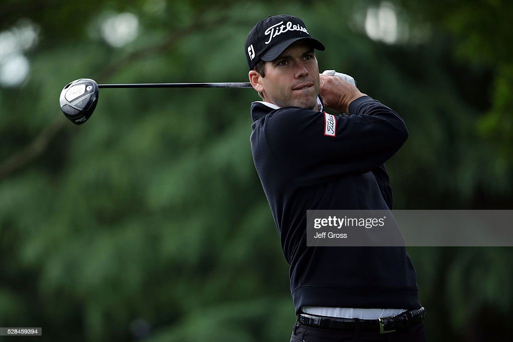<a gi-track='captionPersonalityLinkClicked' href=/galleries/search?phrase=Ben+Martin+-+Golfer&family=editorial&specificpeople=12769070 ng-click='$event.stopPropagation()'>Ben Martin</a> hits his tee shot on the 11th hole during the first round of the Wells Fargo Championship at Quail Hollow Club on May 5, 2016 in Charlotte, North Carolina.
