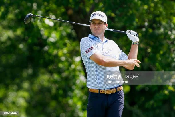 Ben Martin plays his shot from the 12th tee during the second round of the Dean Deluca Invitational on May 26 2017 at Colonial Country Club in Fort...