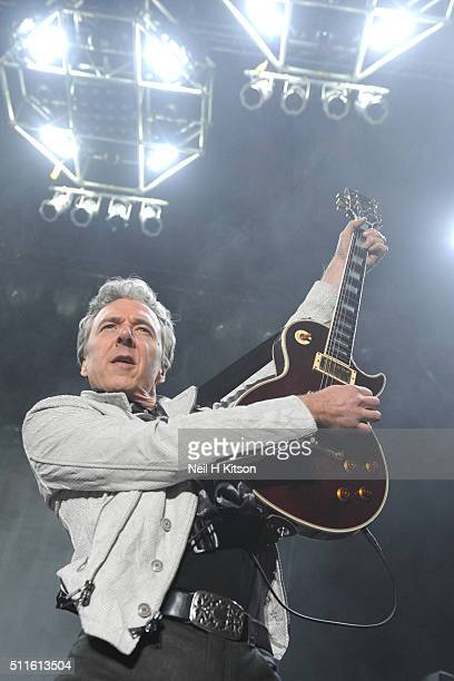 Ben Matthews of Thunder performs at Motorpoint Arena on February 19 2016 in Sheffield England