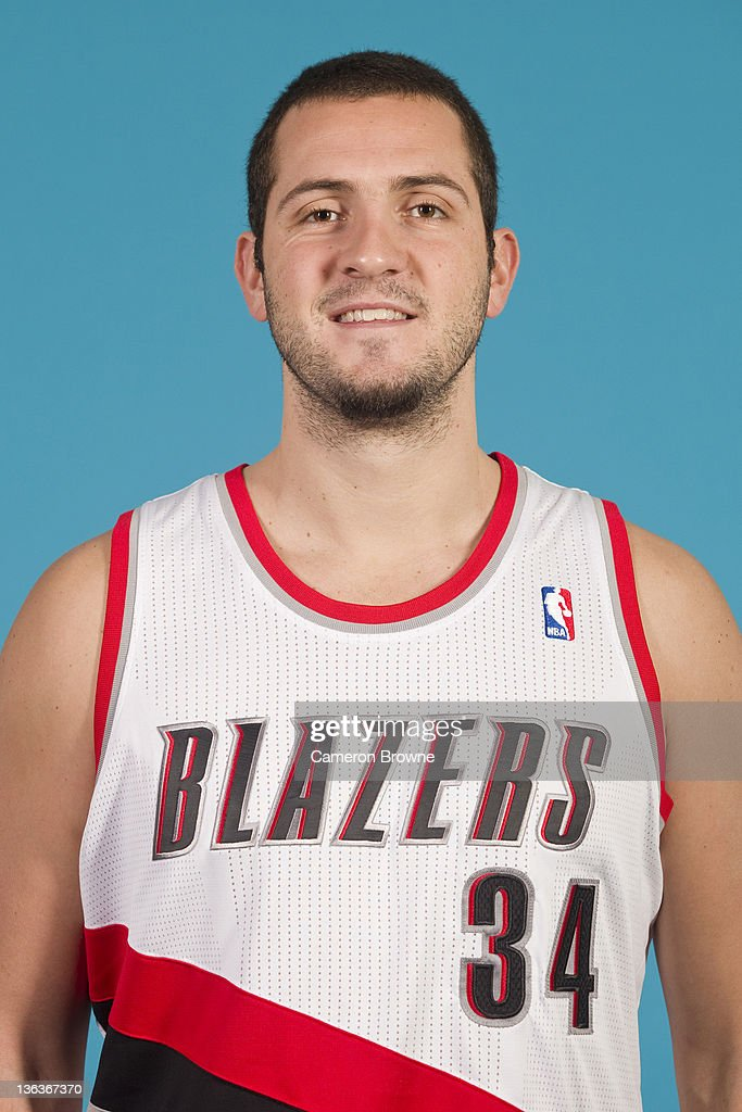 Ben McCauley #34 of the Portland Trail Blazers poses for a portrait during Media Day on December 16, 2011 at the Rose Garden Arena in Portland, Oregon.