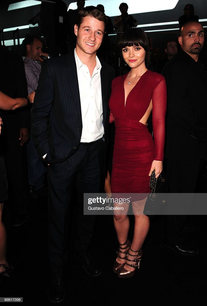 Ben McKenzie and Christina Ricc attends 'The Art of Progress' world premiere of the new Audi A8 at the Audi Pavilion on November 30, 2009 in Miami, Florida.