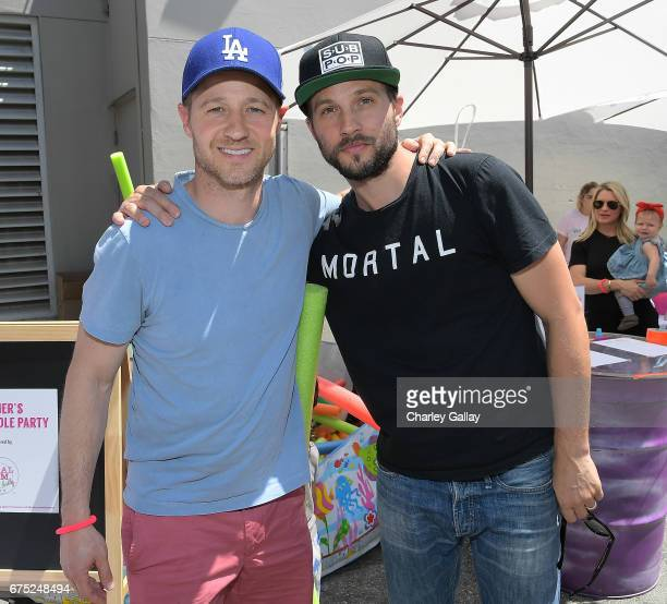 Ben McKenzie and Logan MarshallGreen attend Zimmer Children's Museum Presents 'We All Play' Annual FUNraiser on April 30 2017 in Los Angeles...