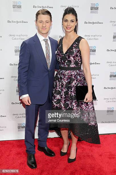 Ben McKenzie and Morena Baccarin attend IFP's 26th Annual Gotham Independent Film Awards at Cipriani Wall Street on November 28 2016 in New York City
