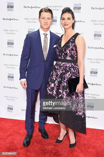 Ben McKenzie and Morena Baccarin attend the 26th Annual Gotham Independent Film Awards at Cipriani Wall Street on November 28 2016 in New York City