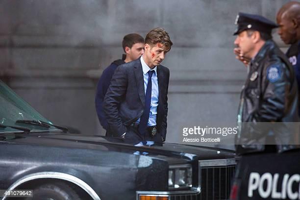 Ben McKenzie is seen filming 'Gotham' on October 2 2015 in New York City