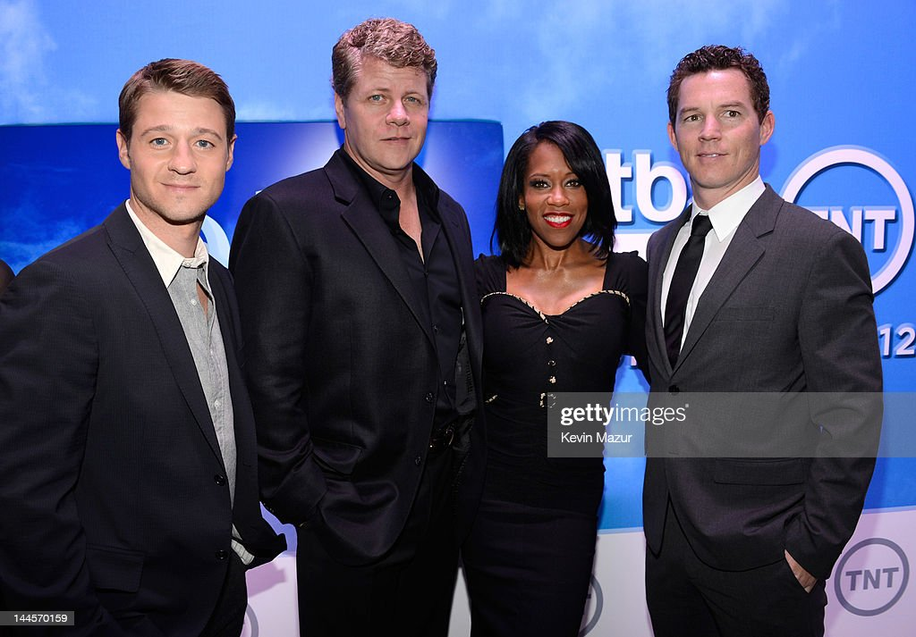 Ben McKenzie, Michael Cudlitz, <a gi-track='captionPersonalityLinkClicked' href=/galleries/search?phrase=Regina+King&family=editorial&specificpeople=202510 ng-click='$event.stopPropagation()'>Regina King</a> and <a gi-track='captionPersonalityLinkClicked' href=/galleries/search?phrase=Shawn+Hatosy&family=editorial&specificpeople=683475 ng-click='$event.stopPropagation()'>Shawn Hatosy</a> attend the TNT/ TBS Upfront 2012 at Hammerstein Ballroom on May 16, 2012 in New York City. 22362_001_0160.JPG