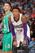 Ben McLemore of the Sacramento Kings in a game against Maccabi Haifa on October 18 2014 at Sleep Train Arena in Sacramento California NOTE TO USER...