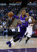 Ben McLemore of the Sacramento Kings in action against the Memphis Grizzlies at Sleep Train Arena on February 25 2015 in Sacramento California NOTE...