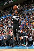 Ben McLemore of the Sacramento Kings shoots against the Oklahoma City Thunder on November 9 2014 at Chesapeake Energy Arena in Oklahoma City OK NOTE...