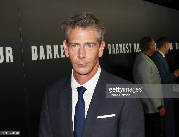 Ben Mendelsohn attends the premiere of Focus Features 'Darkest Hour' at Samuel Goldwyn Theater on November 8 2017 in Beverly Hills California