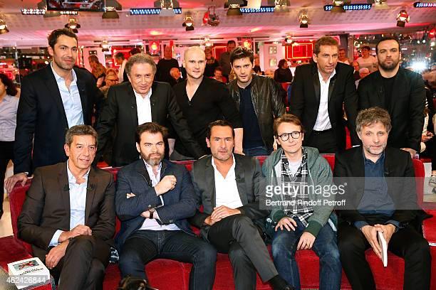 Ben Michel Drucker Nicolas Gob Hugo Becker Thierry garcia Comte de Bouderbala Main Guest of the show Michel Cymes Clovis Cornillac Gilles Lellouche...