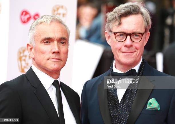 Ben Miles and Alex Jenningsattend the Virgin TV BAFTA Television Awards at The Royal Festival Hall on May 14 2017 in London England