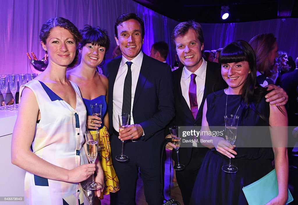 <a gi-track='captionPersonalityLinkClicked' href=/galleries/search?phrase=Ben+Miles&family=editorial&specificpeople=837410 ng-click='$event.stopPropagation()'>Ben Miles</a> (C) and guests attend the Summer Gala for The Old Vic at The Brewery on June 27, 2016 in London, England.