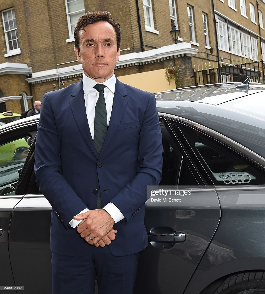 <a gi-track='captionPersonalityLinkClicked' href=/galleries/search?phrase=Ben+Miles&family=editorial&specificpeople=837410 ng-click='$event.stopPropagation()'>Ben Miles</a> arrives in an Audi at The Old Vic Summer Gala on June 27, 2016 in London, England.