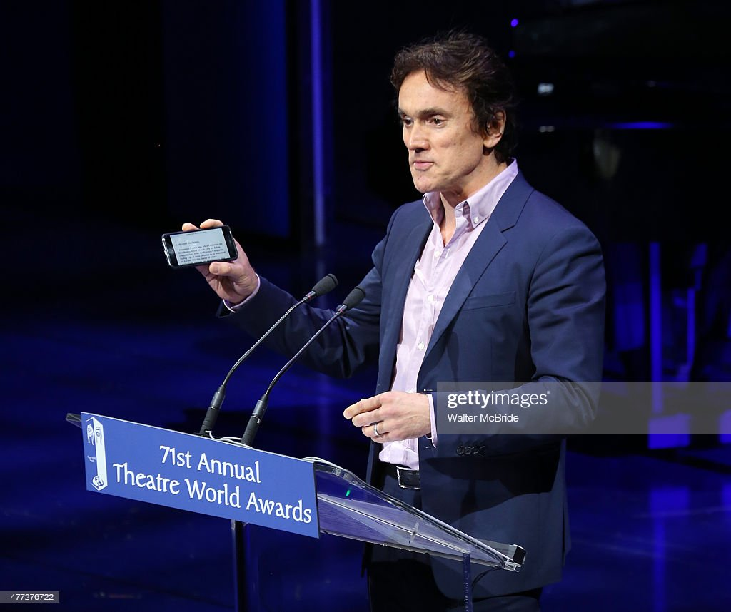 Ben Miles during the The 71st Annual Theatre World Awards presentation ...