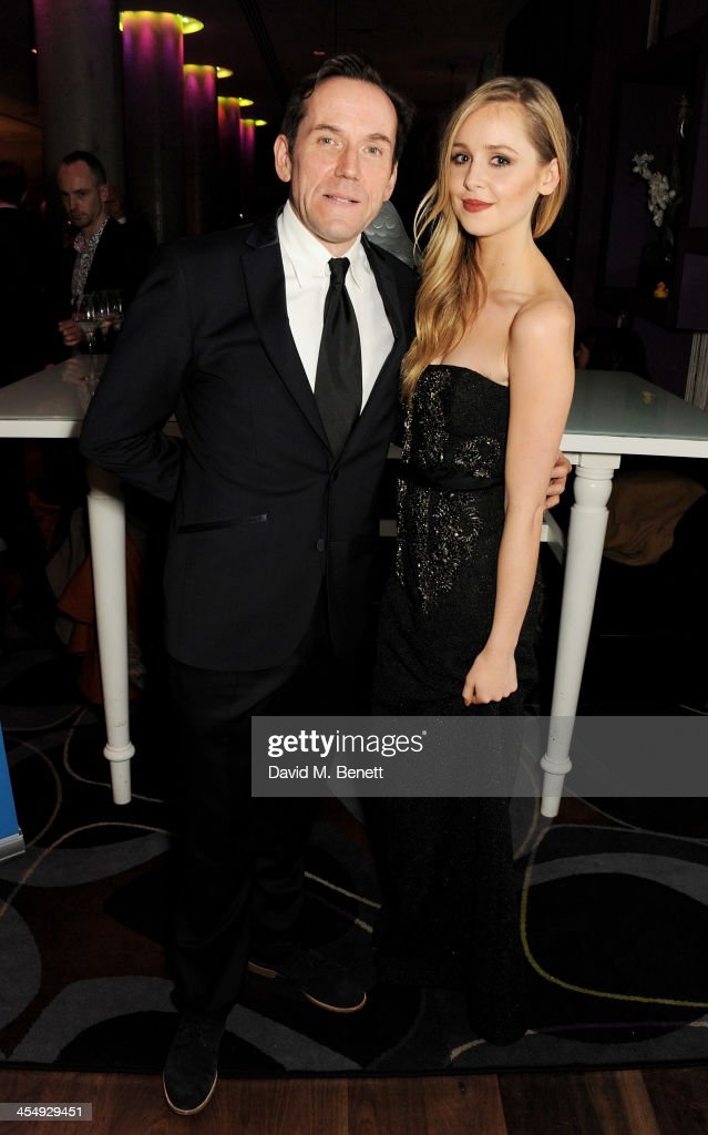 Ben Miller (L) and <a gi-track='captionPersonalityLinkClicked' href=/galleries/search?phrase=Diana+Vickers&family=editorial&specificpeople=5583865 ng-click='$event.stopPropagation()'>Diana Vickers</a> attend an after party celebrating the press night performance of 'The Duck House' at The Trafalgar Hotel on December 10, 2013 in London, England.