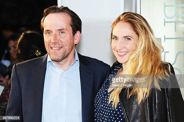 Ben Miller and Jessica Parker attend the UK premiere of 'Anthropoid' at BFI Southbank on August 30 2016 in London England