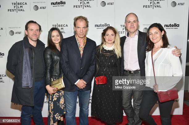 Ben Miller Jessica Mallick Julian Sands Jessica Parker Paul Franklin Lorena Wright of the film 'THe Escape' attend Shorts Program 'Your Heart's...