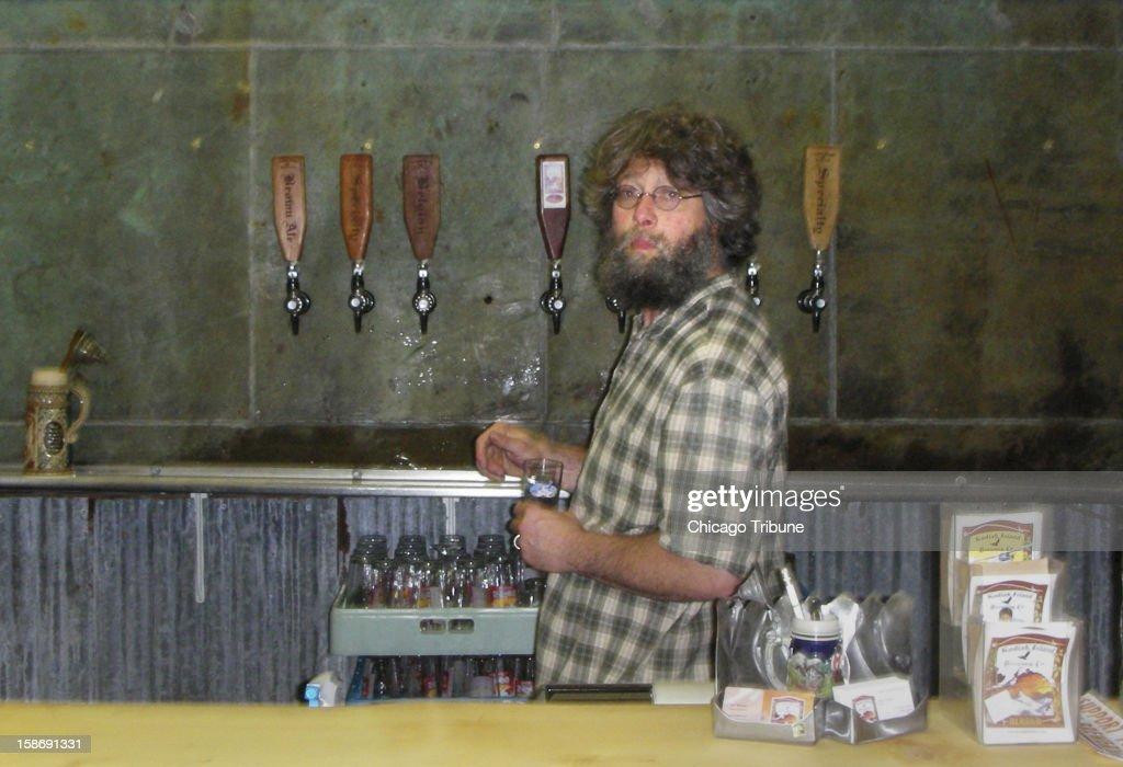 Ben Millstein, of Kodiak Island Brewing Company, is pictured in Kodiak, Alaska, August 11, 2012.