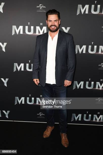 Ben Mingay arrives ahead of The Mummy Australian Premiere at State Theatre on May 22 2017 in Sydney Australia