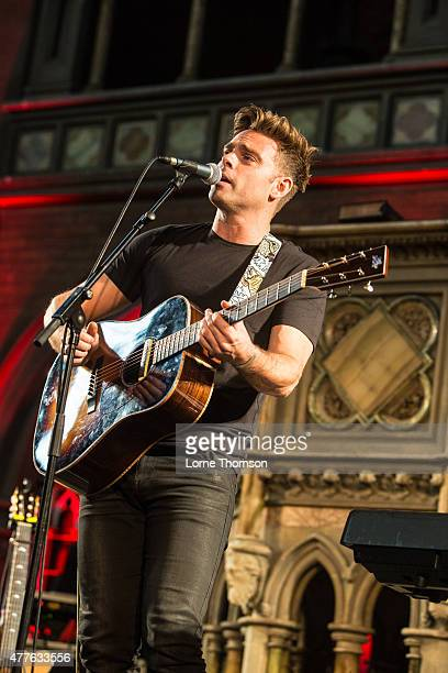 Ben Montague performs at the Union Chapel on June 18 2015 in London United Kingdom