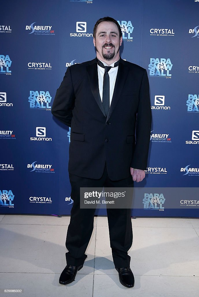 Ben Moore attends ParaSnowBall 2016 Disability Snowsport UK sponsored by Crystal Ski Holidays and Salomon, at The Hurlingham Club on April 28, 2016 in London, England.