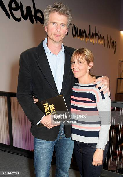 Ben Morris and Mel Giedroyc attend the opening of the Lyric Hammersmith's Reuben Foundation Wing and 'Bugsy Malone' at the Lyric Hammersmith on April...