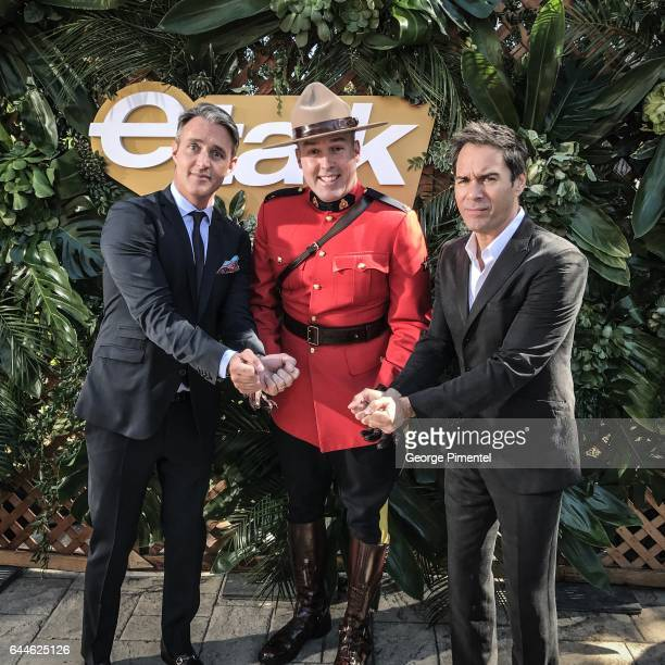 Ben Mulroney and Eric McCormack attend the Canadian Brunch Reception Honoring Canadian Nominees For The 89th Academy Awards And The 32nd Film...