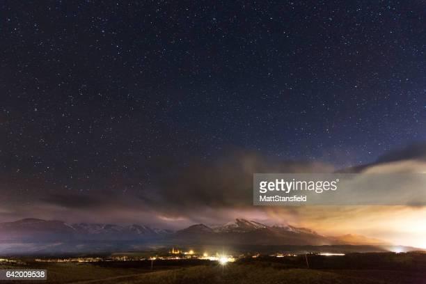 Ben Nevis at Night