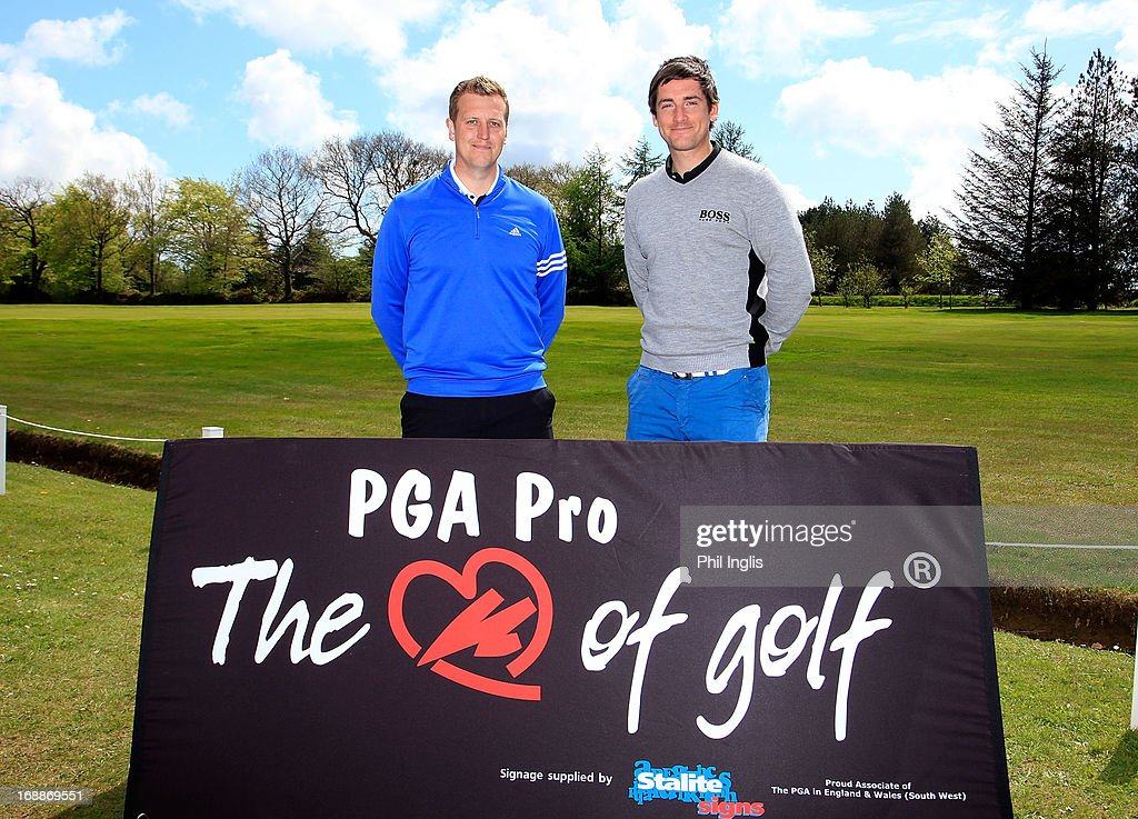 Ben Newman of Ogbourne Downs Golf Club and Joe Ferguson of Celtic Manor Resort Ltd tied for 1st place with a 3 under par 66 during the Powerade PGA Assistants' Championship regional qualifier played at Honiton Golf Club on May 16, 2013 in Honiton, England.