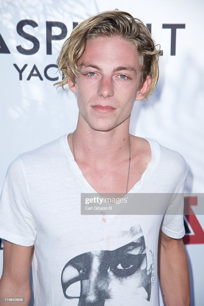 Ben Nordberg attends the Asphalt Yacht Clubs launch of their apparel line at Malibu Inn on July 27, 2013 in Malibu, California.