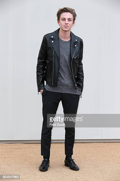 Ben Nordberg attends the Burberry Menswear January 2016 Show at Kensington Gardens on January 11 2016 in London England