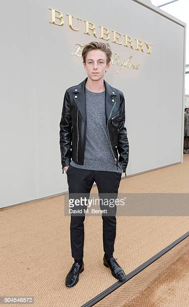 Ben Nordberg attends the Burberry Menswear January 2016 Show on January 11 2016 in London United Kingdom