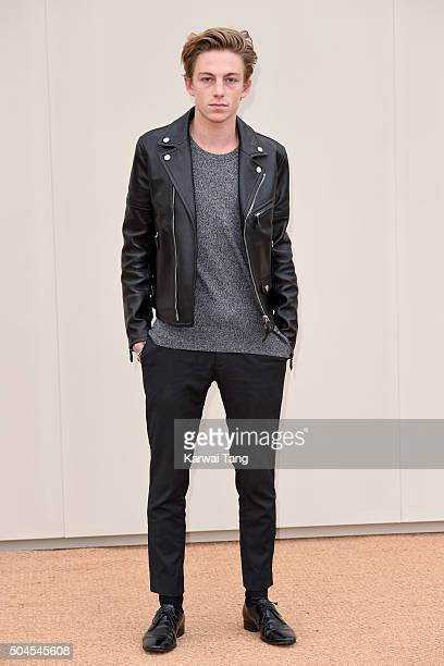 Ben Nordberg attends the Burberry show during The London Collections Men AW16 at Kensington Gardens on January 11 2016 in London England