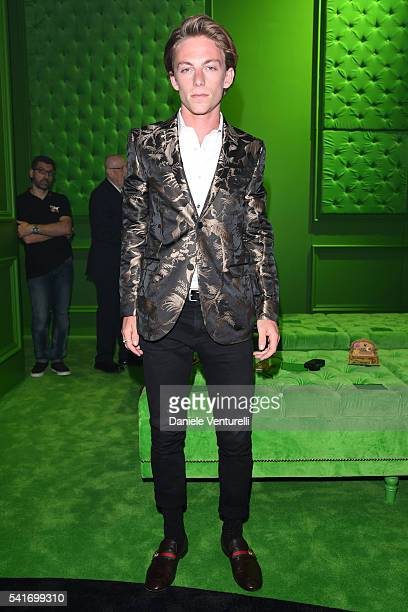 Ben Nordberg attends the Gucci show during Milan Men's Fashion Week SS17 on June 20 2016 in Milan Italy
