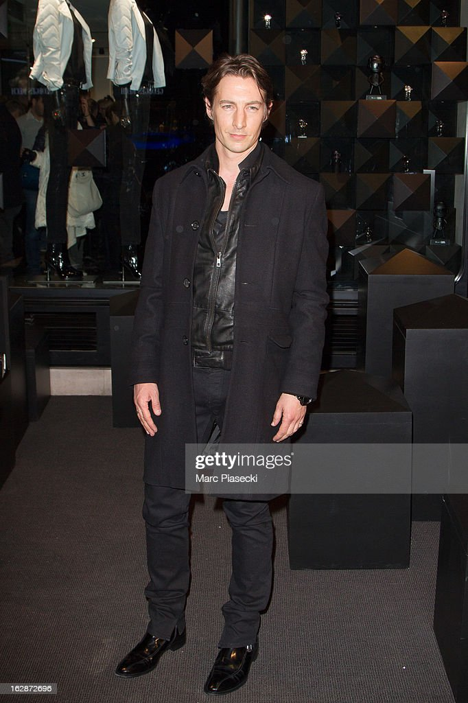 Ben Northover attends the Karl Lagerfeld's Concept Store Opening as part of Paris Fashion Week on February 28, 2013 in Paris, France.