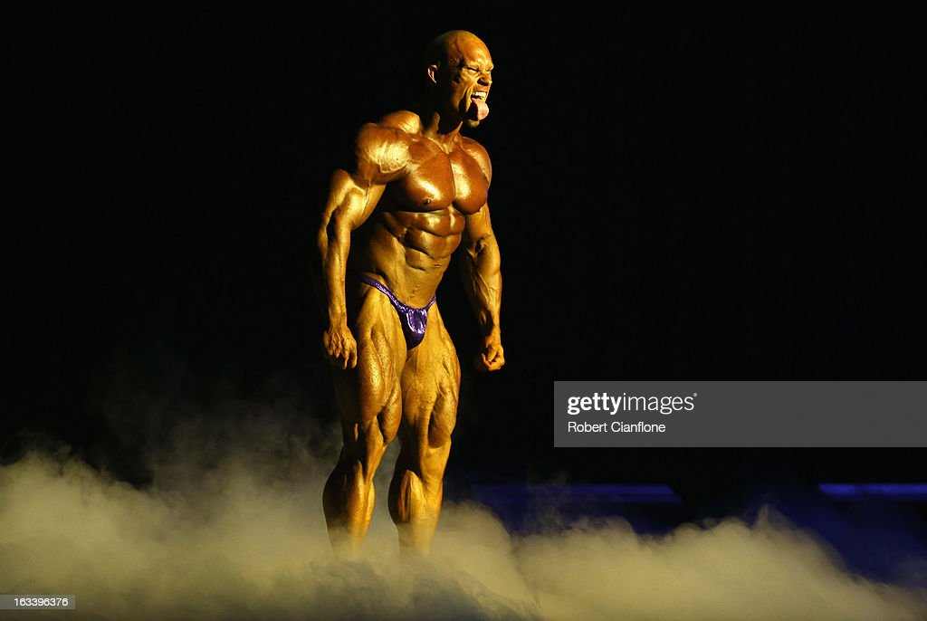 Ben Pakulski of Canada poses during the IFBB Australia Pro Grand Prix at The Plenary on March 9, 2013 in Melbourne, Australia.