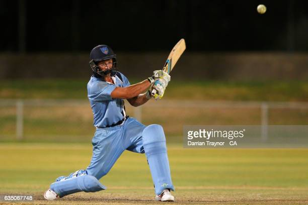 Ben Patterson of New South Wales bats during the National Indigenous Cricket Championships Final between New South Wales and Victoria on February 13...
