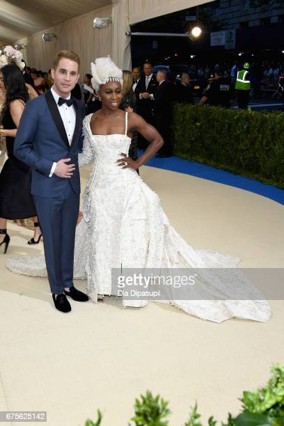 Ben Platt and Cynthia Erivo attend the 'Rei Kawakubo/Comme des Garcons Art Of The InBetween' Costume Institute Gala at Metropolitan Museum of Art on...